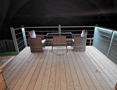 decking at night